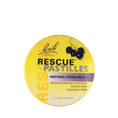 Bach Rescue Pastilles Black Currant 50g