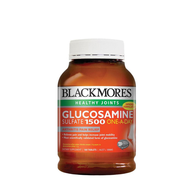 Blackmores Glucosamine Sulphate One-a-Day 1500mg 180 Tablets