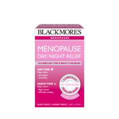 Blackmores Menopause Day/Night Relief 30 + 30 Tablets