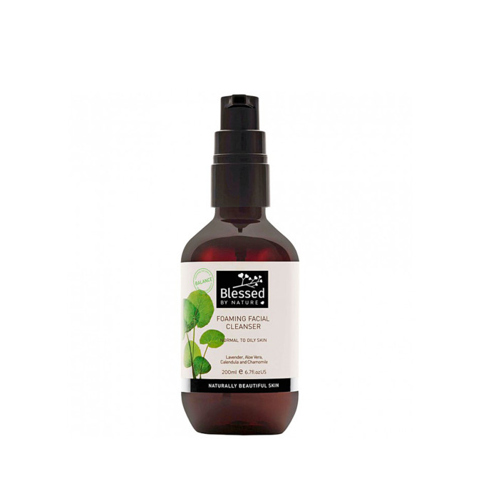 Blessed by Nature Foaming Facial Cleanser 200mL
