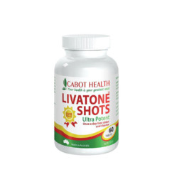 Cabot Health LivaTone Shots 60 Tablets