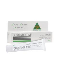 Crystaderm First Aid Antiseptic Cream 15g