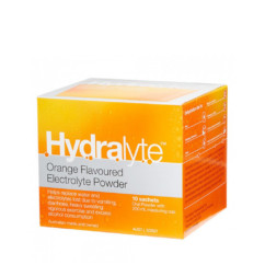Hydralyte Electrolyte Powder Orange Flavour 10x 5g Sachets