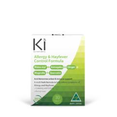 Ki Hayfever Control Formula 30 Tablets