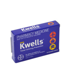 Kwells Travel Sickness Prevention 12 Tablets