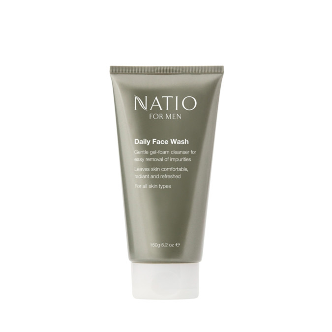 Natio For Men Daily Face Wash 150g