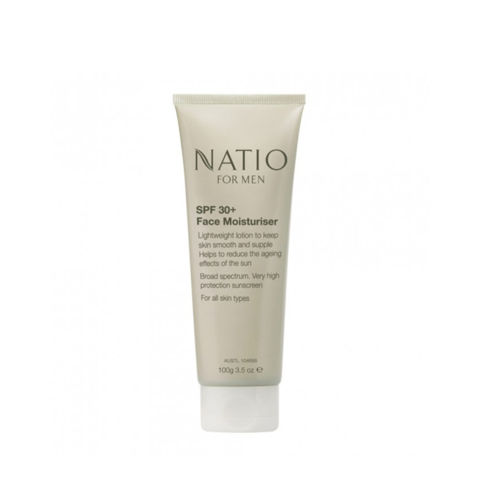 Natio For Men SPF30+ Face Moisturiser 100g