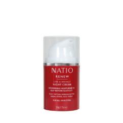 Natio Renew Night Cream 50g
