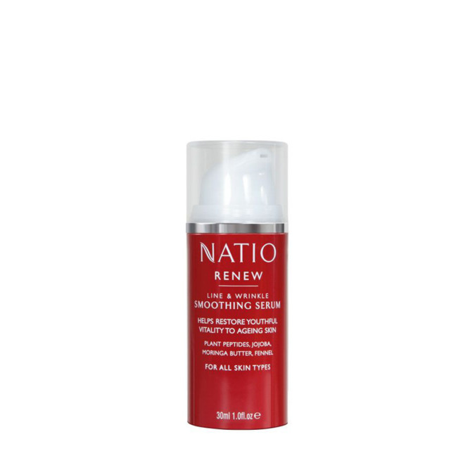 Natio Renew Smoothing Serum 30mL