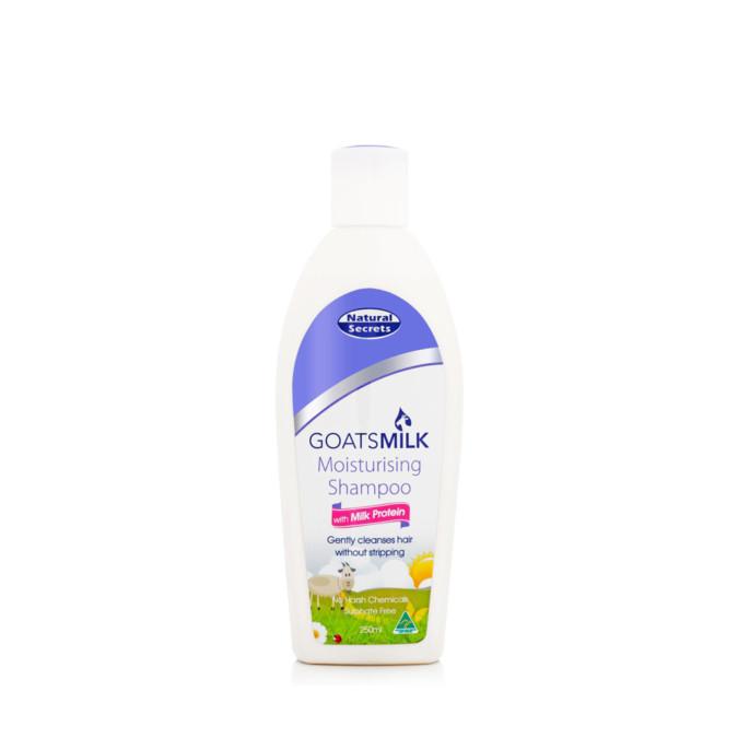 Natural Secrets Goats Milk Moisturising Shampoo 250mL