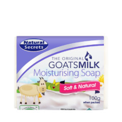 Natural Secrets Goats Milk Moisturising Soap 100g