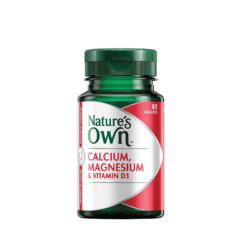Nature's Own Calcium Magnesium & Vitamin D3 80 Tablets