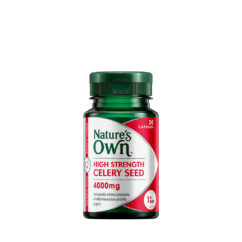 Nature's Own High Strength Celery Seed 4000mg 30 Capsules