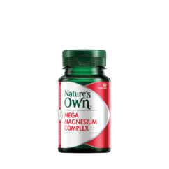 Nature's Own Mega Magnesium Complex 50 Tablets