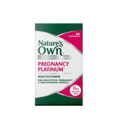 Nature's Own Pregnancy Platinum Multivitamin 60 Capsules