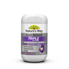 Nature's Way Joint Restore Triple Action 120 Tablets