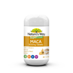 Nature's Way Super Foods Maca 500mg 60 Tablets