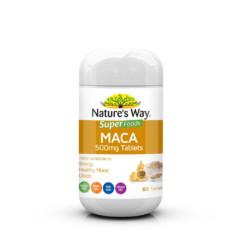 Nature's Way Super Foods Maca 500mg 60 Tablets