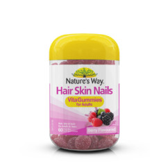 Nature's Way VitaGummies Adult Hair Skin Nails 60 Gummies