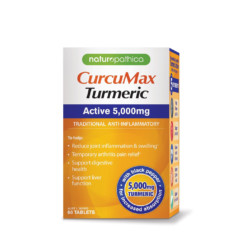 Naturopathica CurcuMax Turmeric Active 5000mg 60 Tablets