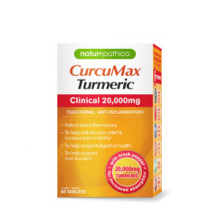 Naturopathica CurcuMax Turmeric Clinical 20000mg 60 Tablets