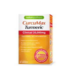 Naturopathica CurcuMax Turmeric Clinical 20000mg 60 Tablets