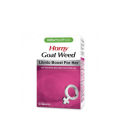 Naturopathica Horny Goat Weed for Her 50 Tablets