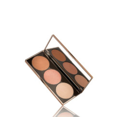 Nude by Nature Highlight Pallette 3x 3g