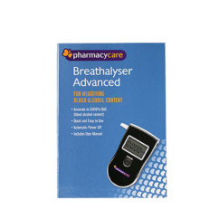 Pharmacy Care Breathalyser Advanced