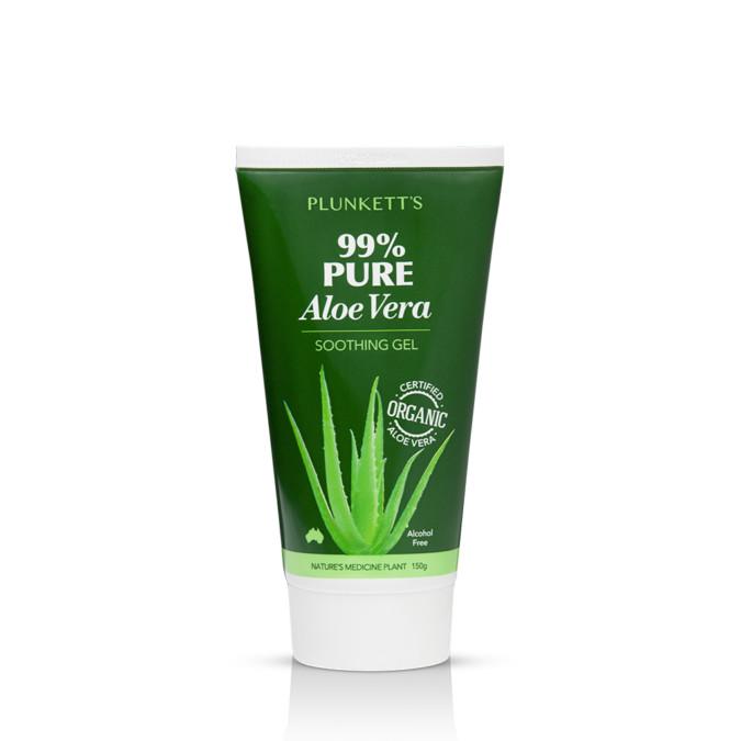 Plunkett's 99% Pure Aloe Vera Soothing Gel 150g