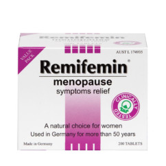 Remifemin Menopause Symptoms Relief 200 Tablets