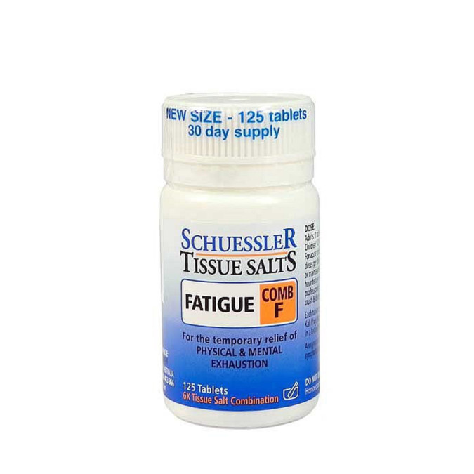 Schuessler Tissue Salts Comb F - Fatigue