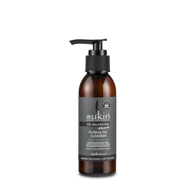 Sukin Oil Balancing Purifying Gel Cleanser 125mL